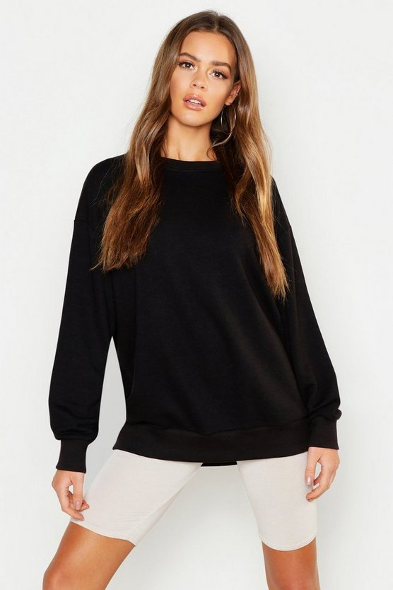 Drop Shoulder Oversized Sweat