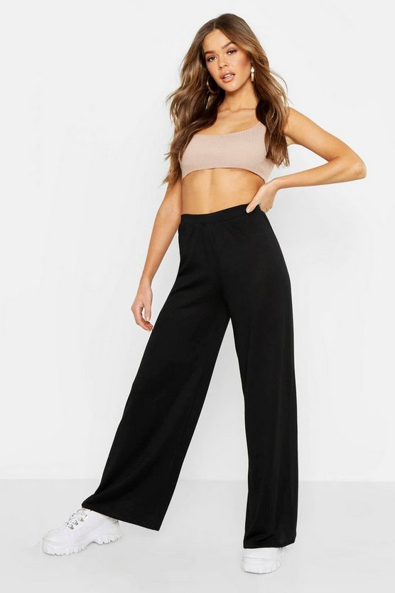 Cut and Sew Wide Leg Trouser