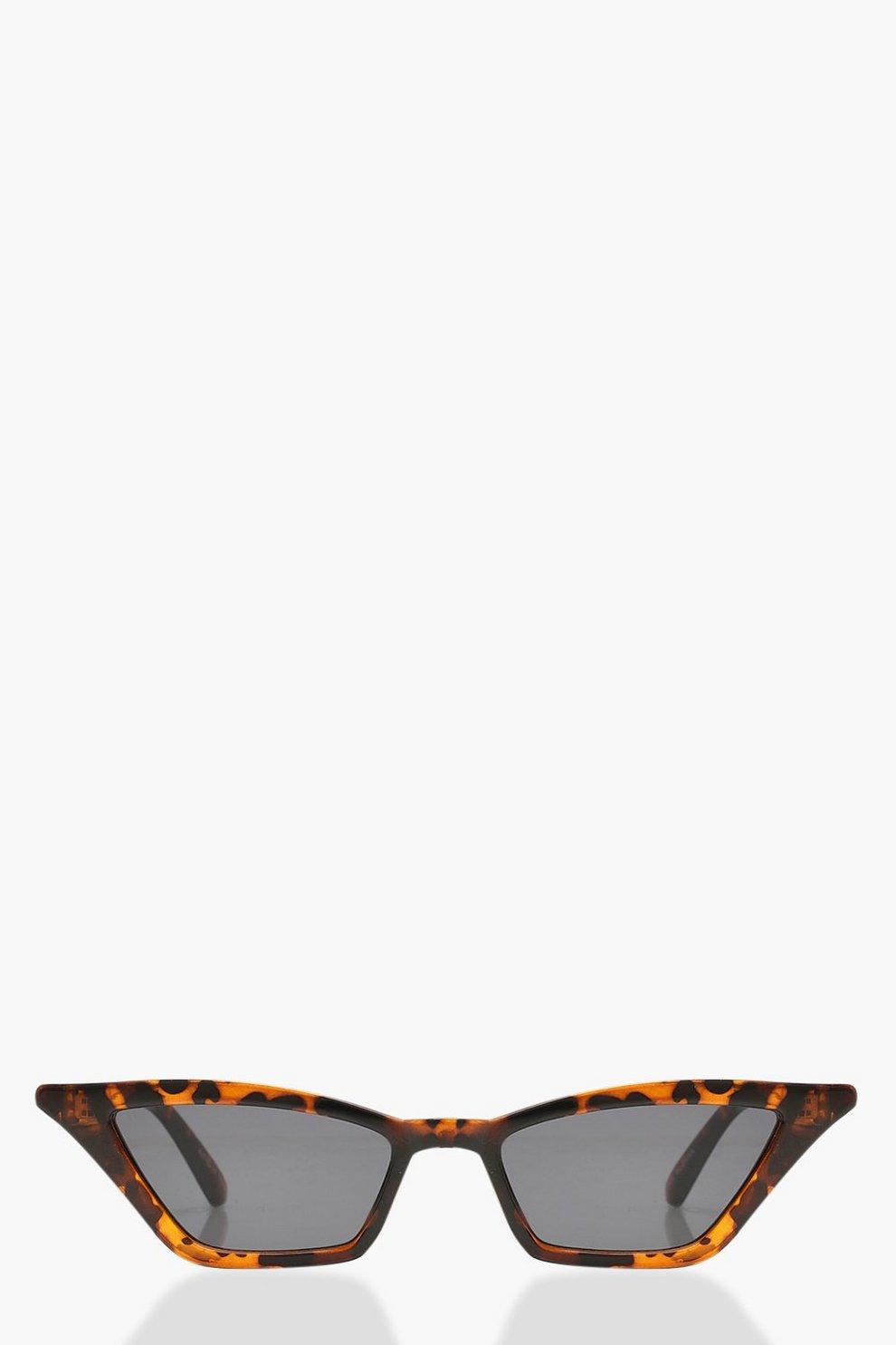 046ec75f9b527 Tortoiseshell Point Cat Eye Sunglasses