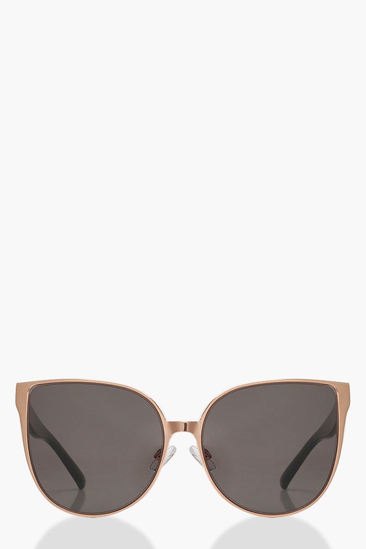 633f194bb Womens Black Oversized Retro Frame Sunglasses. Hover to zoom