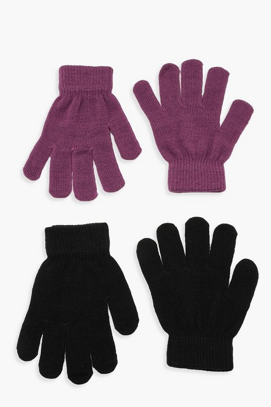 Black & Colour Magic Gloves Multi Pack