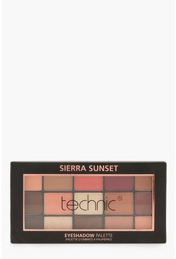 Womens Multi Technic Eyeshadow Palette-Sierra Sunset