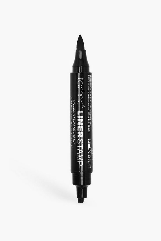 Womens Black Technic Liner Stamp