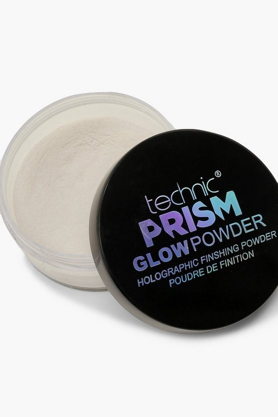 Womens White Technic Prism Glow Powder