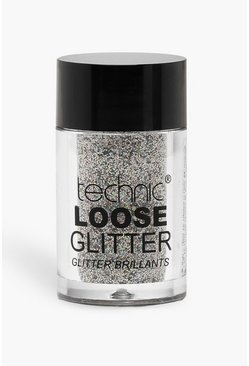 Womens Silver Technic Loose Glitter - Shark Skin