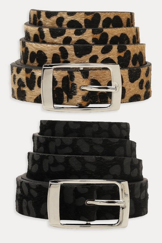 2 Pack Animal Boyfriend Belt