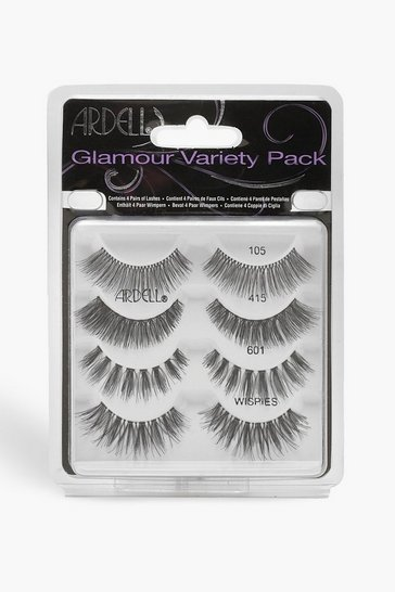 Womens Black Ardell Glamour Variety Pack