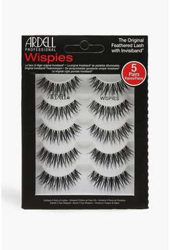 Womens Black Ardell Multipack Wispies x5