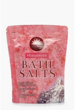 Womens Pink Himalayan Bath Salts