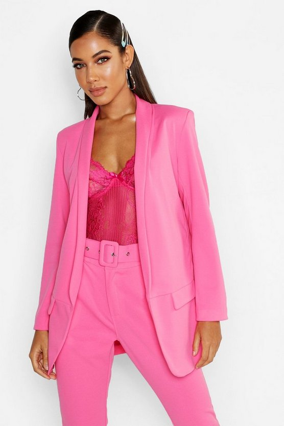 Hot pink Tailored Blazer