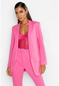 Womens Hot pink Tailored Blazer