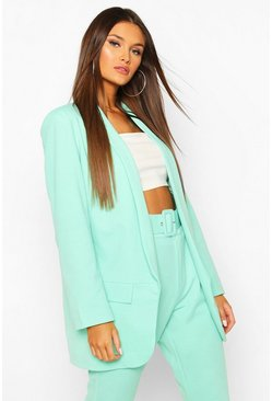 Mint Tailored Blazer