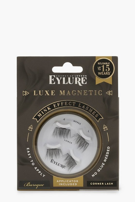 Womens Black Eylure Magnetic Lashes - Baroque Corner