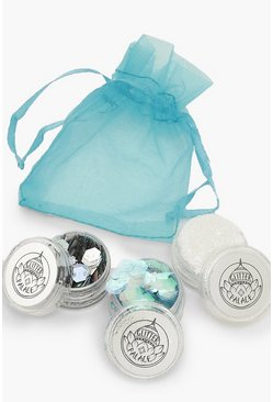 Womens Multi 3pk Glitter Set- Ice Queen
