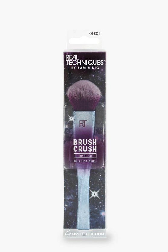 Womens Silver Real Techniques Brush Crush Blush