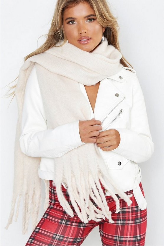 Supersoft Oversized Tassel Scarf
