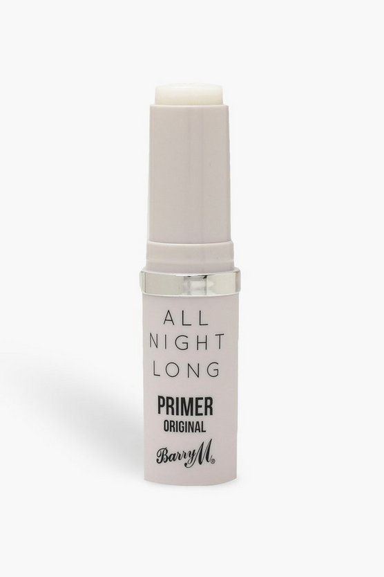 Womens White Barry M All Night Long Original Primer Stick