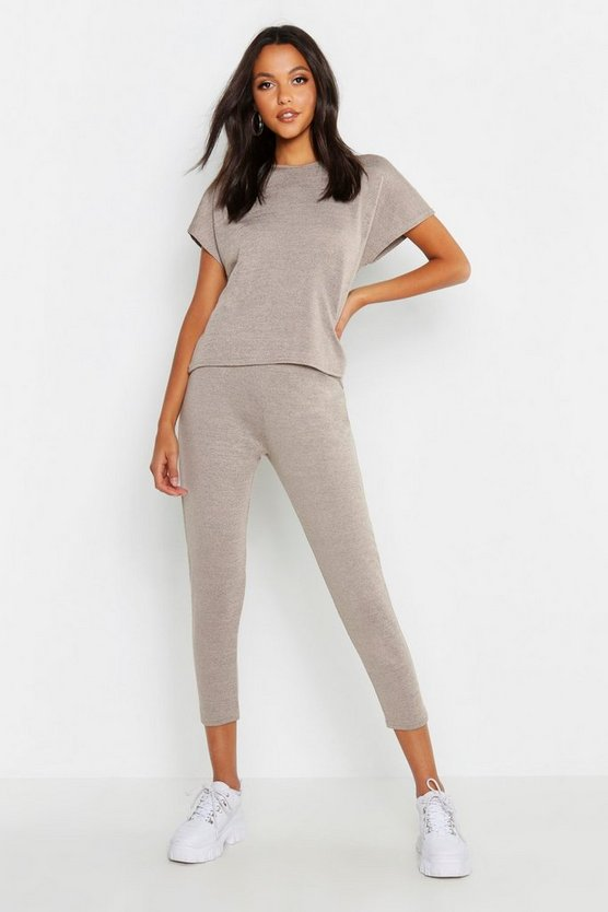 Boxy Knitted Loungewear Set