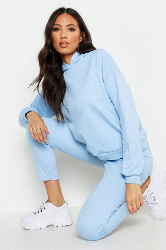 Womens Sky Hooded Basic Tracksuit