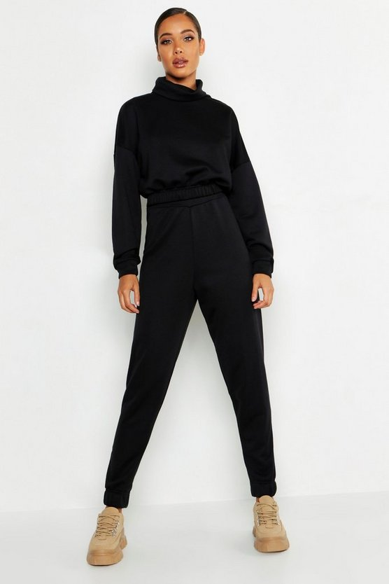 Roll Neck Sweat Tracksuit
