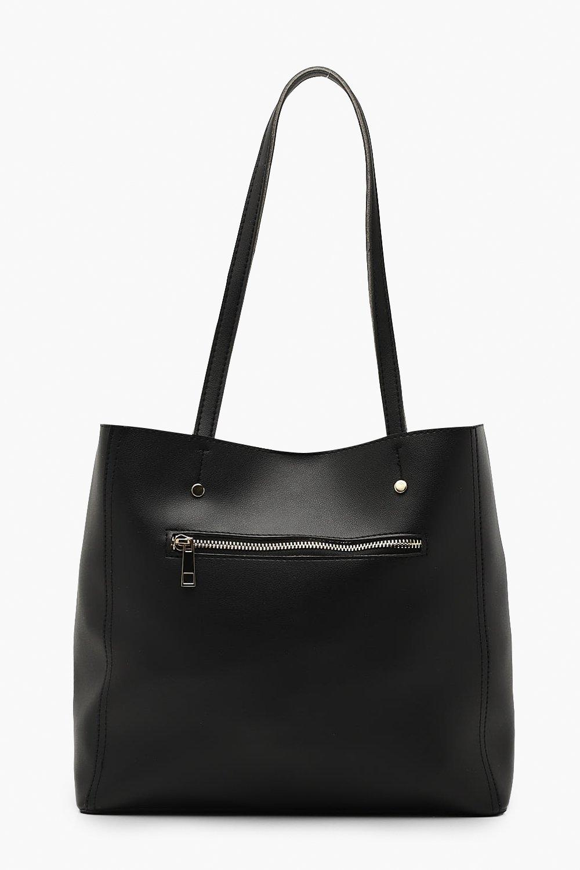 Zip Window Tote Bag
