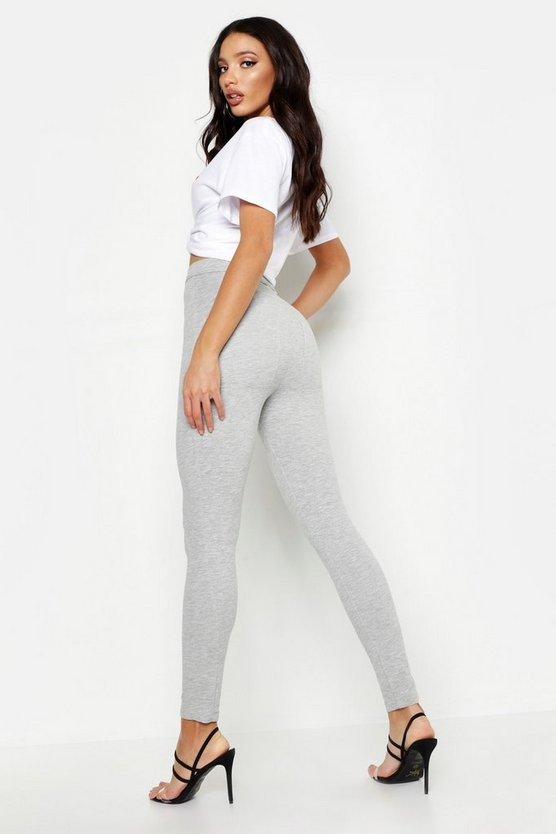 Womens Grey Bum Shaping Leggings