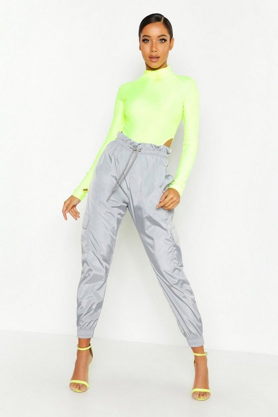 Pocket Paperbag Waist Shell Jogger