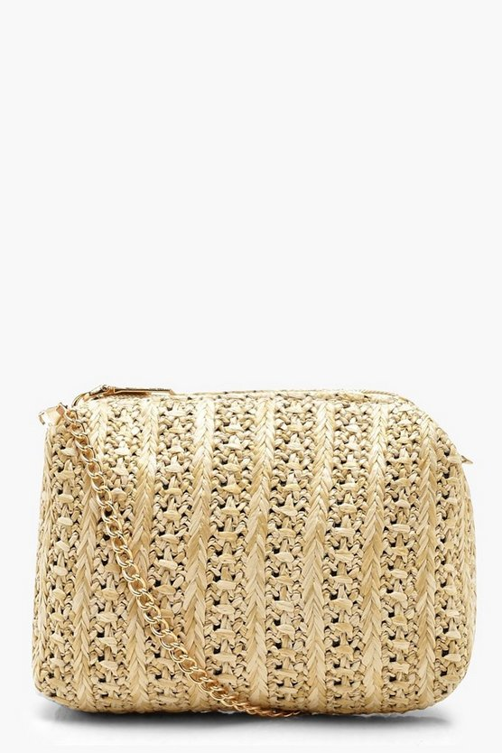 Straw Mini Cross Body