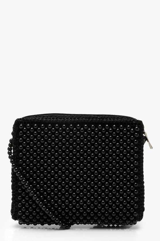 All Over Beaded Cross Body