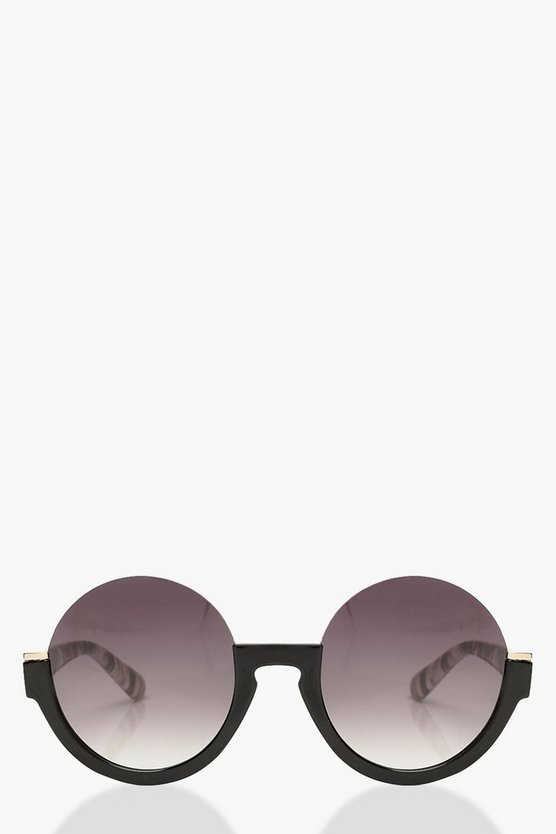 Black Marble Cut Out Sunglasses