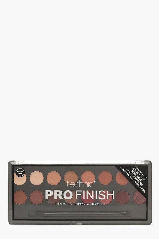 Multi Technic Pro Finish Eyeshadow Palette - Molten Lava