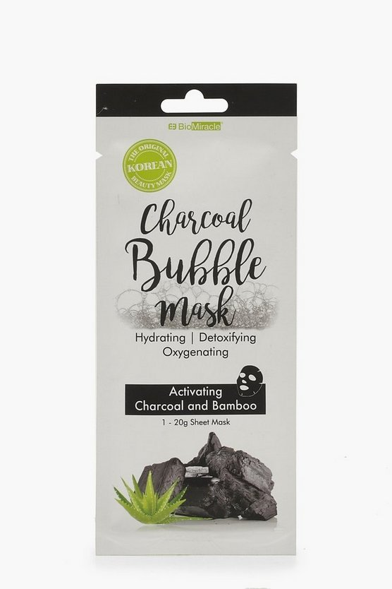 Womens Multi Charcoal Bubble Face Mask