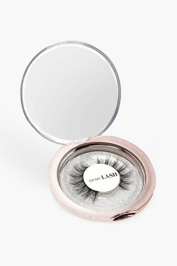 Womens Silver Oh My Lash Date Night Lashes