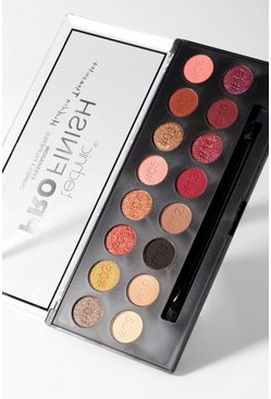 Technic ProFinish Eyeshadow Palette, Mehrfarbig, Damen