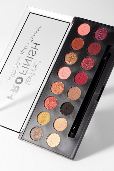 Multi Technic ProFinish Eyeshadow Palette - Hidden Treasures