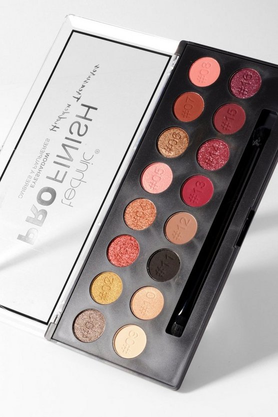 Technic ProFinish Eyeshadow Palette - Hidden Treasures