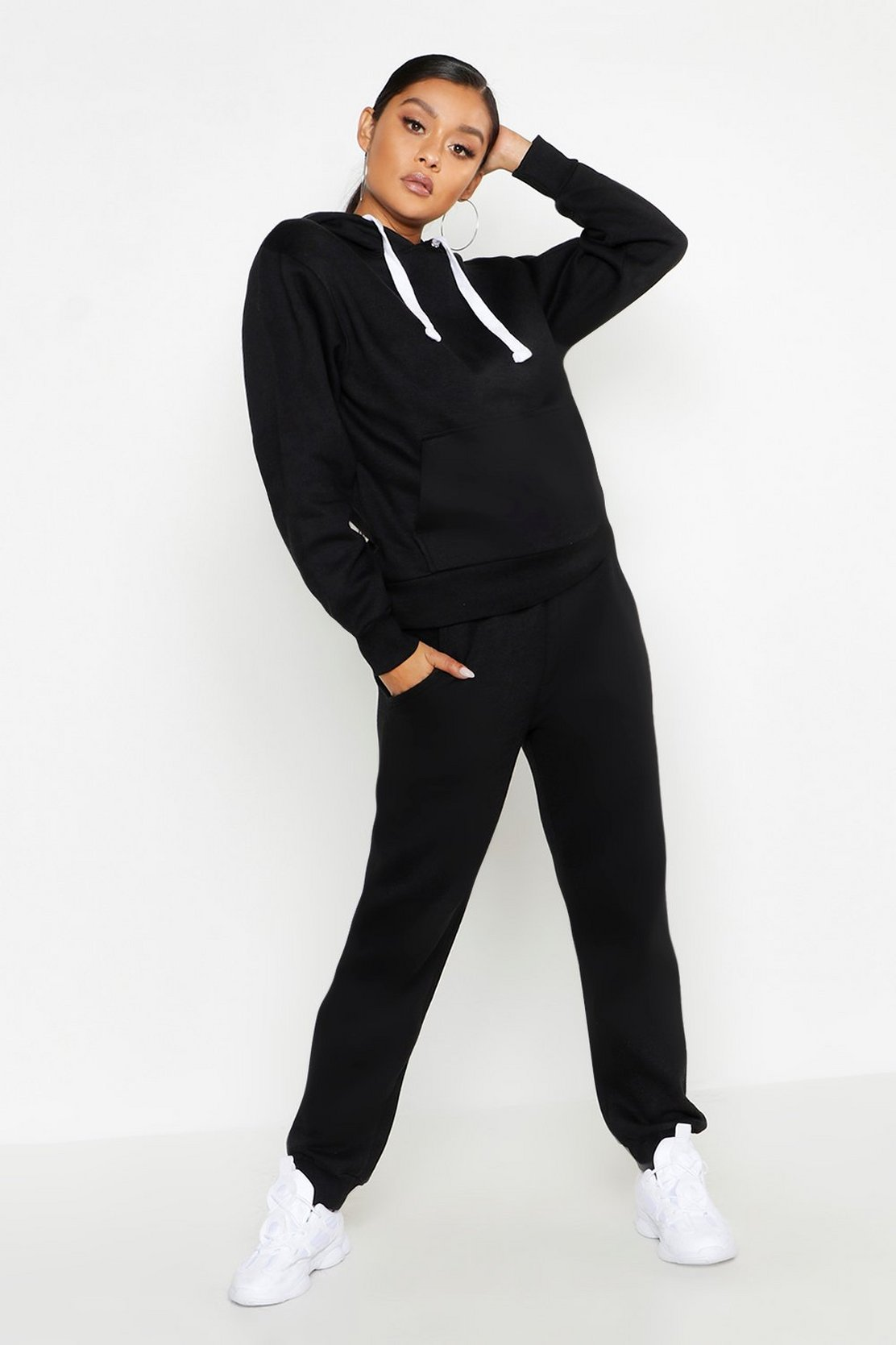 Hooded Tracksuit by Boohoo
