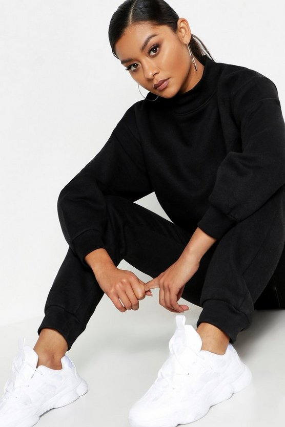 Funnel Neck Oversized Tracksuit