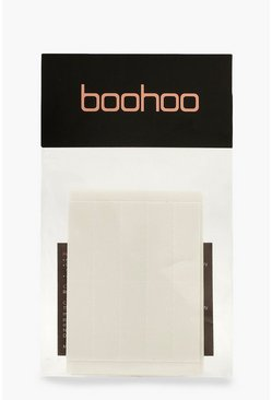 Womens Clear Boohoo Pre Cut Body Tape 20 Pack