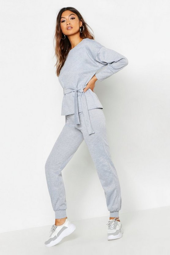 Belted Sweat & Jogger Tracksuit