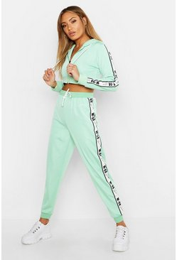 Womens Sage Fit Woman Crop Hoody & Jogger Set