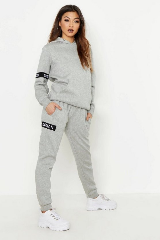 Woman Hoody & Jogger Tracksuit Set