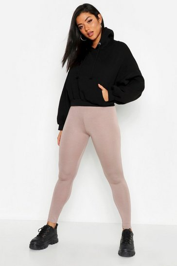 Womens Mocha Jersey Leggings
