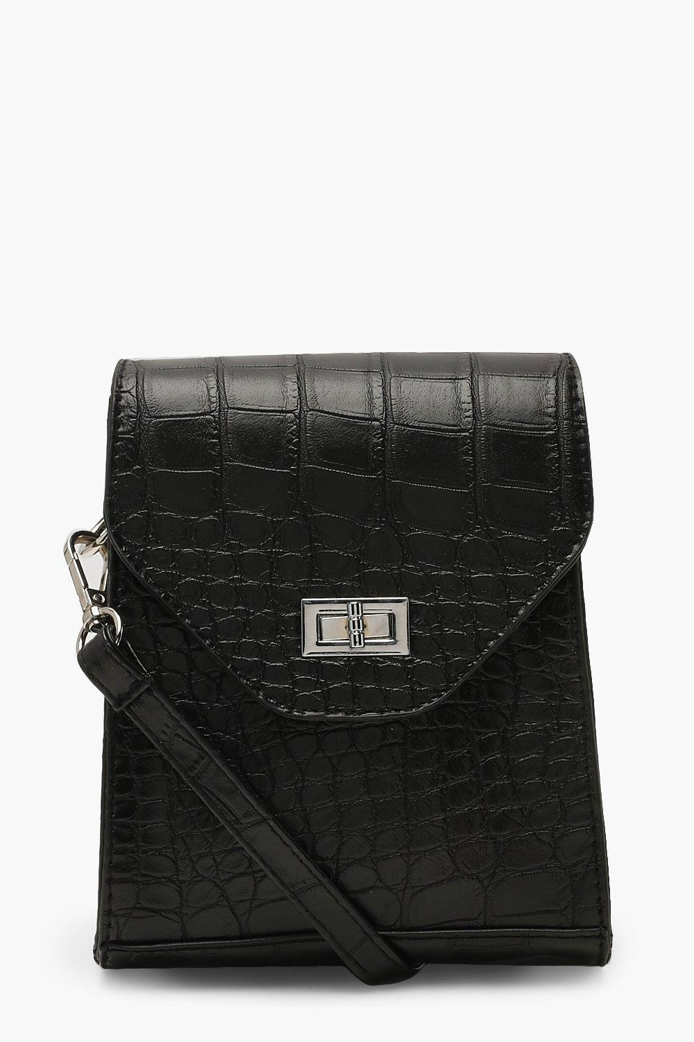 Croc & Lock Square Cross Body