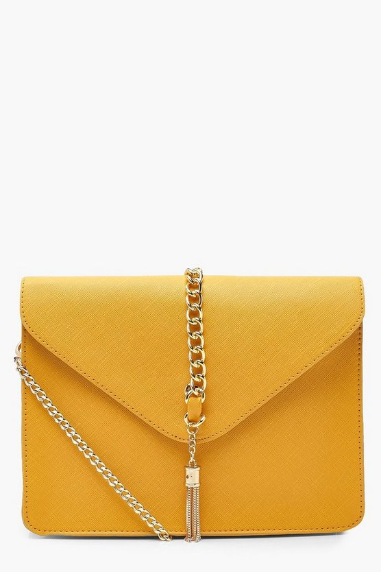 Crosshatch Chain & Handle Cross Body
