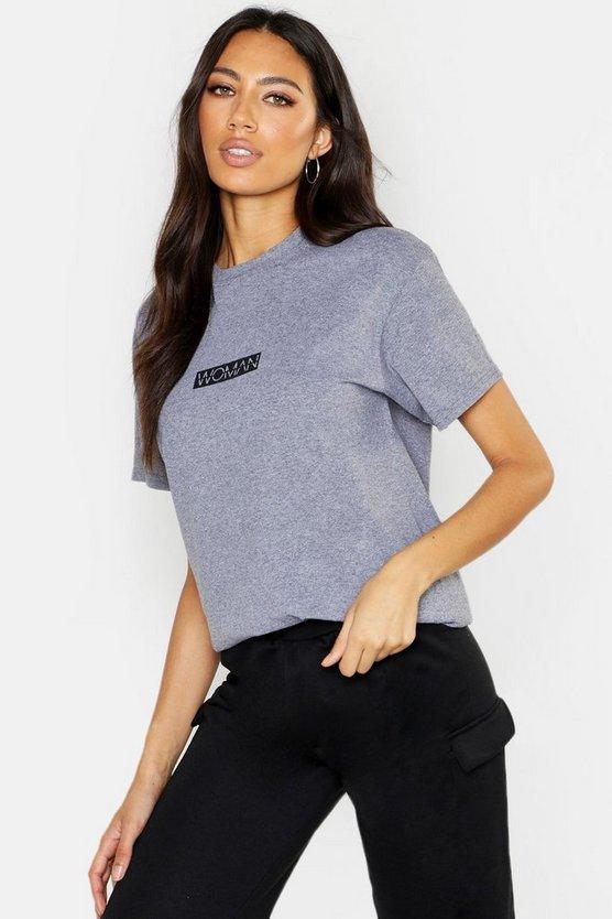 Woman Slogan T-Shirt