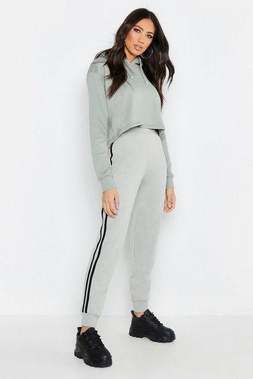 Womens Sage Fit Side Stripe Joggers
