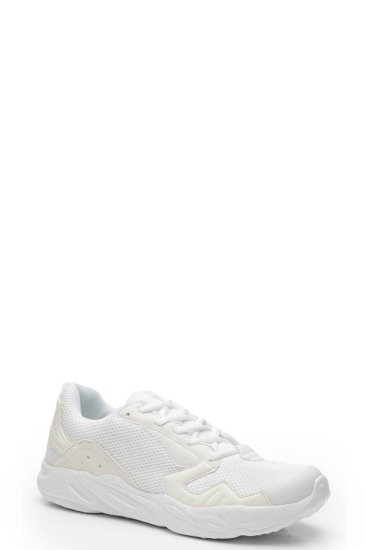 brand new 00519 3777f Sneaker mit dicker Sohle zum Schnüren   Boohoo