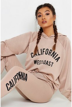 Womens Stone Fit Cropped California Tracksuit