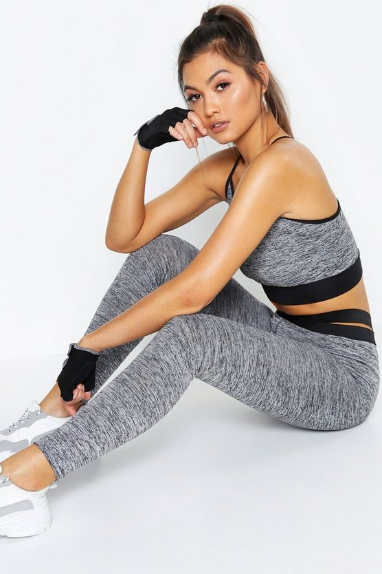 Fit Breathable Strapping Sports Leggings
